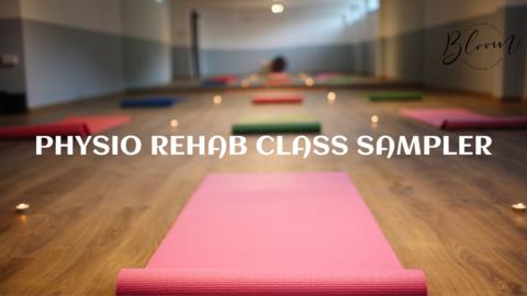 Physio Rehab Class Sampler