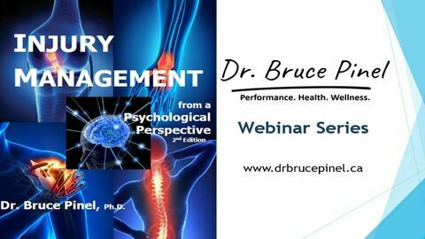 Injury Management from a Psychological Perspective - Webinar Series for Patients