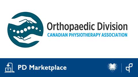 Apprenez plus sur le programme intégré de physiothérapie muskuloskelettique avancée de la division d'orthopédie