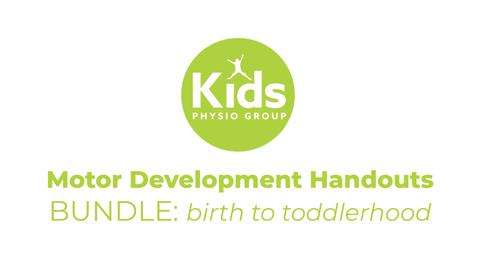 Motor Development Handouts BUNDLE