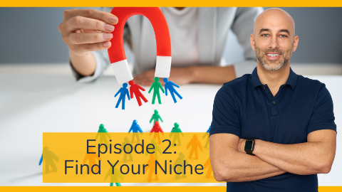 Embodia's Business Mastermind Series with Frank Benedetto Episode 2: Find Your Niche
